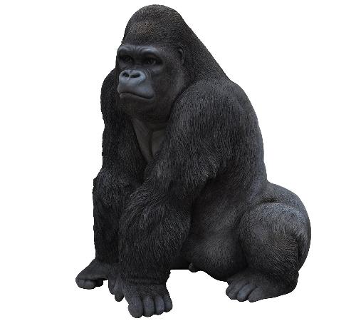 statue de gorille design en r sine pour votre jardin. Black Bedroom Furniture Sets. Home Design Ideas