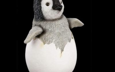 Statue de pingouin mignon pour extérieur