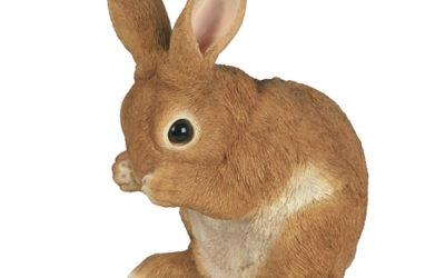 Statue de lapin mignon pour le jardin