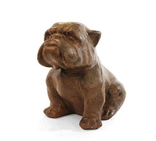 statue-bulldog-jardin-brune