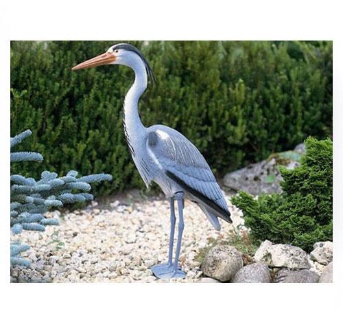 statue-plastique-heron