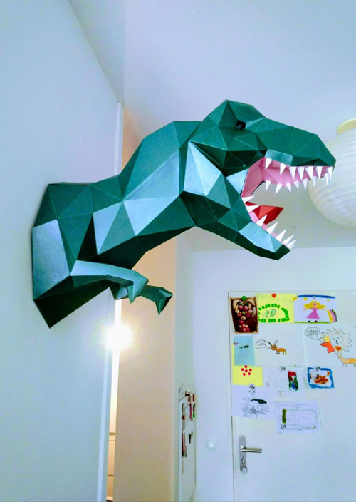 t-rex-origami-trophee-3